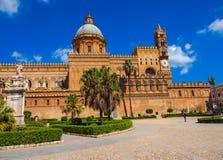 Die Kathedrale von Palermo Stockfoto