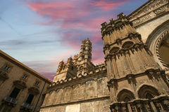 Die Kathedrale von PalermoSicily, Süditalien. Stockbilder