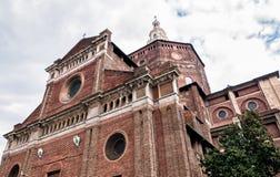 Die Kathedrale von Pavia, Italien stockbild