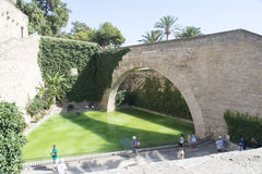 Die Kathedrale von Santa Maria, Palma de Mallorca Lizenzfreie Stockbilder