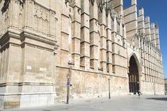 Die Kathedrale von Santa Maria, Palma de Mallorca Stockbild