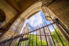 Die Kathedrale von Sevilla Stockfoto