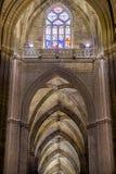 Die Kathedrale von Sevilla Stockbild