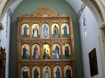 Die Kathedrale von St Francis von Assisi in Santa Fe New Mexiko USA Lizenzfreie Stockbilder
