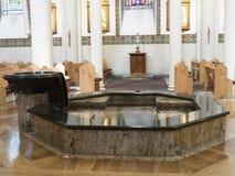 Die Kathedrale von St Francis von Assisi in Santa Fe New Mexiko USA Lizenzfreies Stockbild