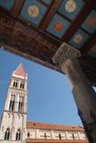 Die Kathedrale von Trogir, Kroatien Stockfotos