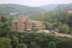 Die Kathedrale von Veliko Tarnovo Stockbild