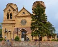 Die Kathedralen-Basilika des Heiligen Franziskus von Assisi Stockfoto