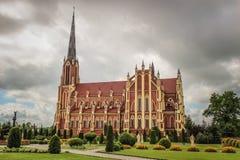 die katholische Kirche Lizenzfreie Stockfotografie