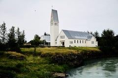 Die katholische Kirche in Island lizenzfreies stockfoto