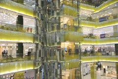 Die Kaufhaushalle Lizenzfreie Stockfotos