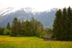 Die kaukasischen Berge Stockbilder