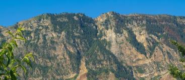 Die Kaukasus-Berge Stockbild