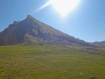 Die Kaukasus-Berge Stockbilder