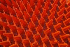 Die Kegel-Zone Stockbild