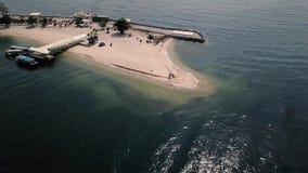 Die Kelor-Insel stock video