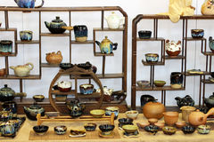 Die keramischen Produkte Stockfotos