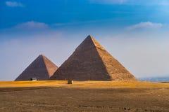 Die Khufu-Pyramide in Ägypten lizenzfreie stockfotografie