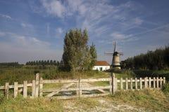 Die Kilsdonkse-Windmühle Stockfoto