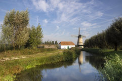 Die Kilsdonkse-Windmühle Lizenzfreies Stockfoto