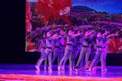 Die Kind-` s ` s Kinder des Korps-Peking-Tanz-Hochschulordnende Tests unterrichtende Leistungsausstellung Jiangxi hervorragenden  Stockbild
