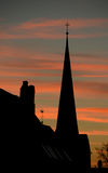 Die Kirche Lizenzfreie Stockbilder