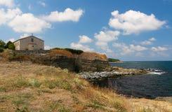 "Die Kirche ""The Annahme von St Mary, Tsarevo, Bulgarien Lizenzfreies Stockfoto"