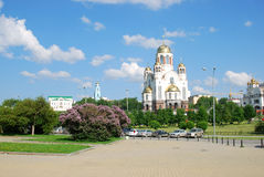 Die Kirche auf dem Blut, Russland lizenzfreies stockfoto