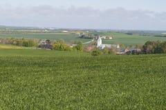 Die Kirche bei Voldum, Dänemark Lizenzfreies Stockbild