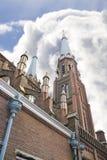 Die Kirche in Delft Stockfotografie