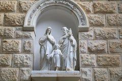 Die Kirche der Ankündigung Stockbild