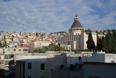 Die Kirche der Ankündigung, Nazaret, Israel stockfoto