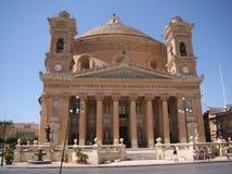 Die Kirche der Annahme unserer Dame oder des Rundbau- von Mosta oder des Rundbau von St. Marija Assunta oder Lizenzfreies Stockfoto