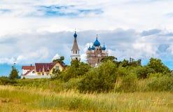 Die Kirche der heiligen Apostel Peter und Paul Dorf Vetvenik Lizenzfreie Stockbilder