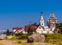 Die Kirche der heiligen Apostel Peter und Paul Dorf Vetvenik Lizenzfreies Stockbild