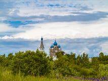 Die Kirche der heiligen Apostel Peter und Paul Dorf Vetvenik Lizenzfreie Stockfotos