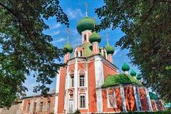 Die Kirche des goldenen Ringes von Russland. Lizenzfreies Stockbild