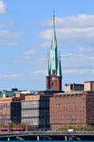 Die Kirche des Heiligen Clare - 2 Lizenzfreies Stockfoto