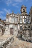 Die Kirche des Heiligen Francisco, Portugal, Porto, Stockbilder