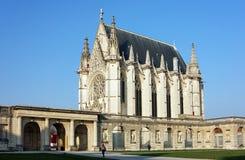 Die Kirche des Schlosses von Vincennes stockfoto