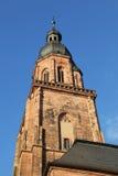 Die Kirche Heiliggeist von Heidelberg, Deutschland Lizenzfreies Stockbild