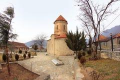 Die Kirche in Kish-Dorf, Aserbaidschan Lizenzfreies Stockfoto