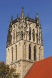 Die Kirche Liebfrauen in Muenster, Deutschland stockfotografie