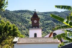 Die Kirche in Machico auf der Insel von Madeira Portugal Lizenzfreies Stockbild