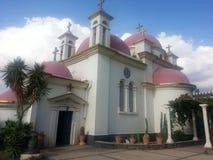 Die Kirche nahe Kapriole naum stockfoto