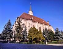Die Kirche Str.-Mihail, Klausenburg, Rumänien Lizenzfreie Stockfotografie