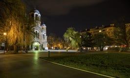 Die Kirche Sveti Sedmochislenitsi in Sofia Stockfoto