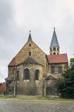 Die Kirche unserer Dame in Halberstadt, Deutschland Lizenzfreie Stockfotos