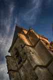 Die Kirche vom Zweiten Weltkrieg Lizenzfreie Stockbilder