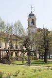 Die Kirche von Acquie Terme, Italien Stockfotos